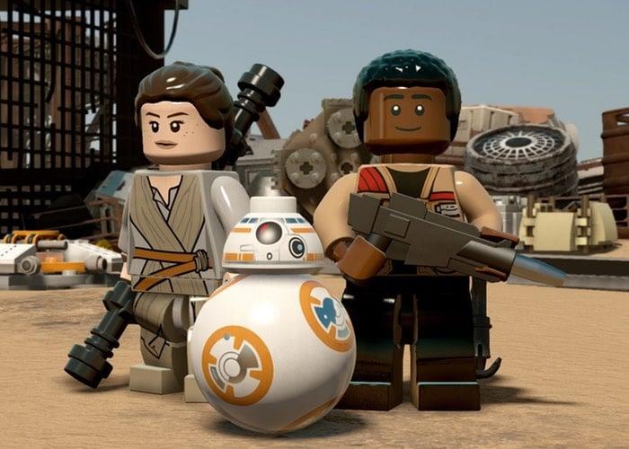 Lego Star Wars The Force Awakens Demo