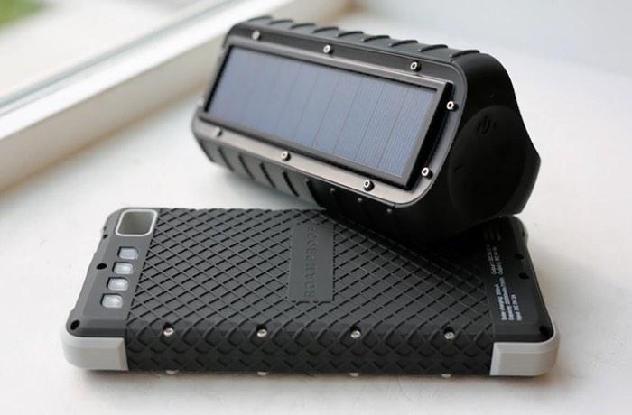 MacroBoom Rugged Solar Bluetooth Speaker