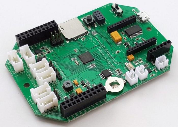 Arduino compatible mayfly data logger and environmental