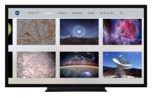NASA Apple TV App Launches Bringing Space to Your Large Screen TV