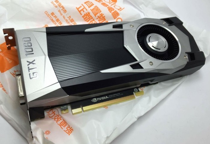 NVIDIA GeForce GTX 1060 Graphics Card