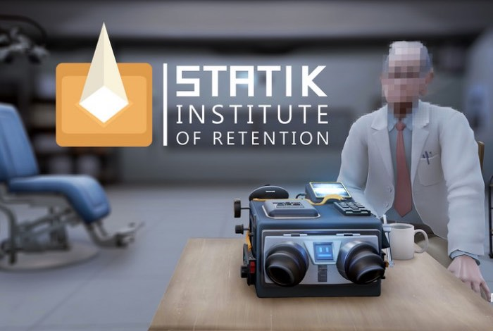 New PlayStation VR Puzzle Game Statik