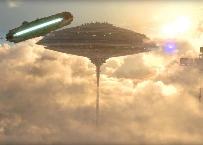 Star Wars Cloud City Car