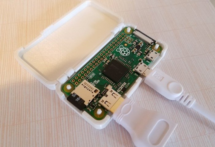 One Piece 3D Printed Raspberry Pi Zero Case