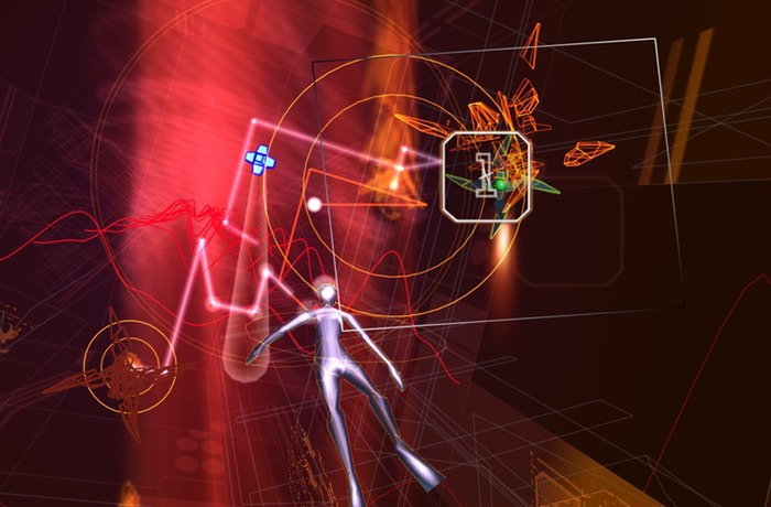 PlayStation VR Rez Infinite Game