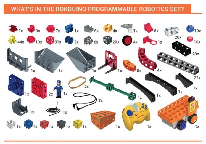 ROKduino Educational Arduino Based Robotic Building Blocks