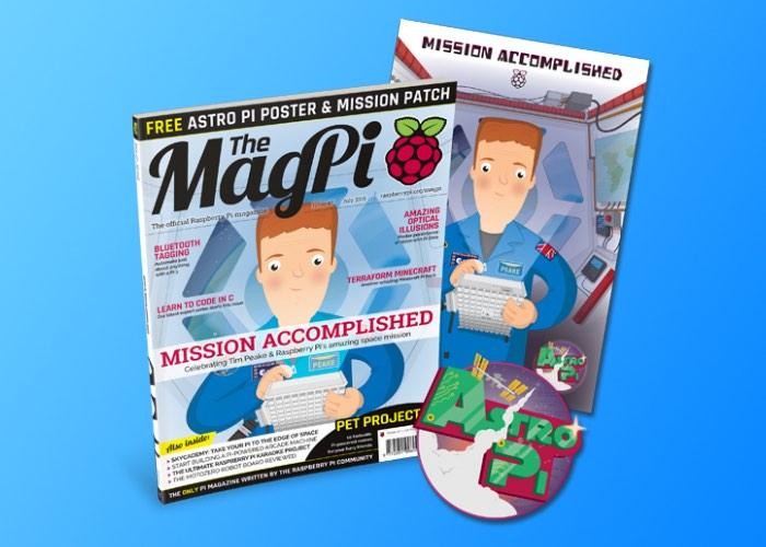 Raspberry Pi MagPi Astro Pi Special Magazine