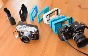 Raspberry Pi Powered Digital Backpack For Analog 35mm Cameras (video)