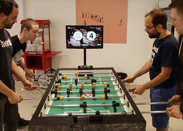 Raspberry Pi Powered Table Football Instant Replay System
