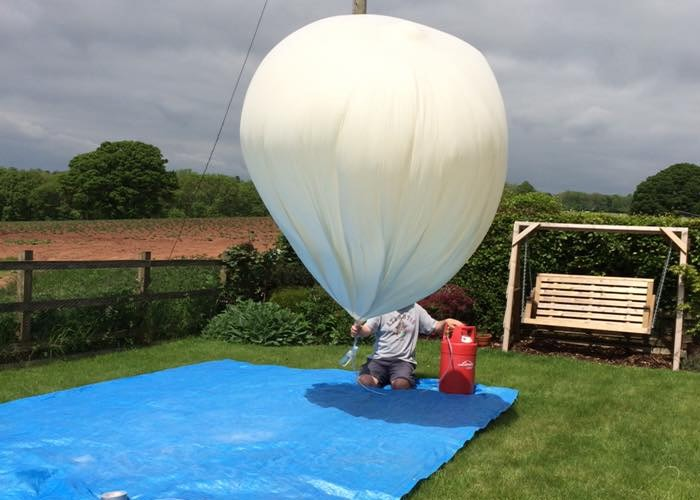 Raspberry Pi Zero And Camera Set New High Altitude Ballooning Record