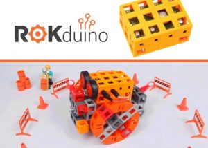 ROKduino Educational Arduino Based Robotic Building Blocks (video)