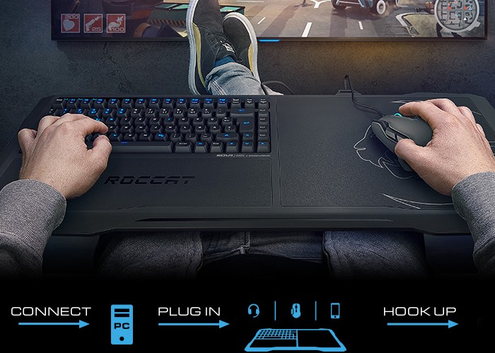 Roccat Sova Couch PC Gaming System Launches From $150 (video)