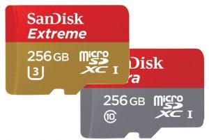 SanDisk Unveils World's Fastest 256GB MicroSD Card