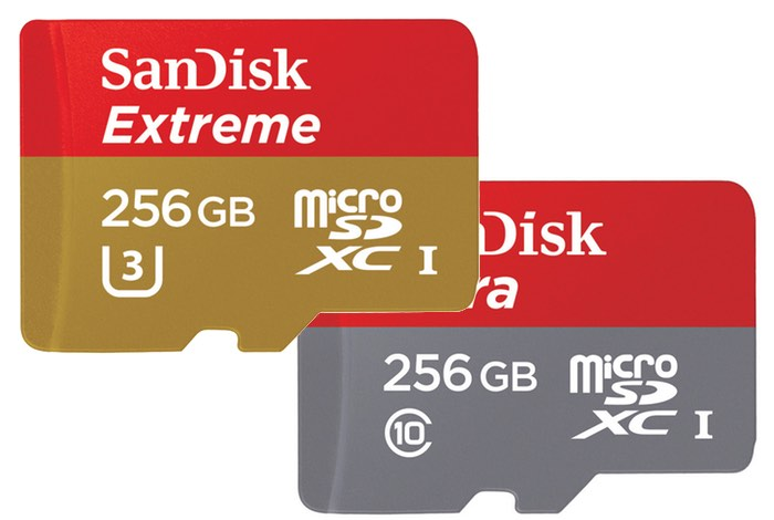 SanDisk Unveils World's Fastest 256GB MicroSD Card-1