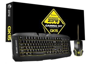 Sharkoon Shark Zone GK15 Gaming Kit Launches For Affordable €29
