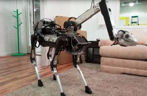 SpotMini Robot Unveiled By Boston Dynamics (video)