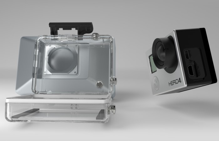 Unique Vitrima 3D GoPro Camera Lens