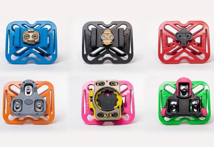 Fly Pedals COLORS Universal Clipless Bicycle Pedal Adapter Hits Kickstarter (video)