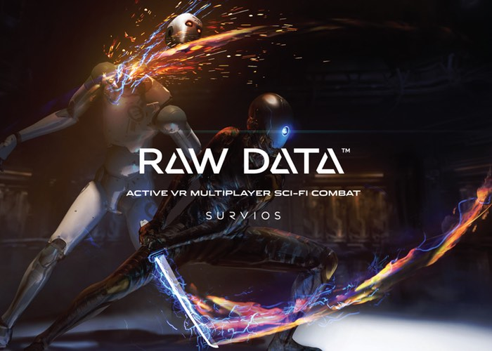 VR Game Raw Data Gameplay Footage