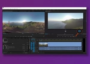 Virtual Reality Editing Tools Now Available In Adobe Premiere Pro Software