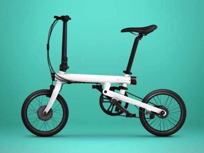 Latest Xiaomi QiCycle is a cheaper folding electric bicycle