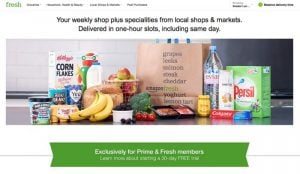 Amazon Fresh Lands In The UK To Deliver Your Groceries
