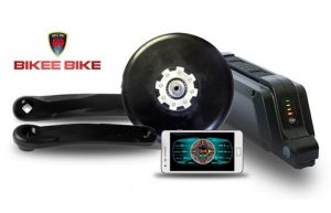 Bikee Transforms Your Standard Bike Into An eBike With Power (video)