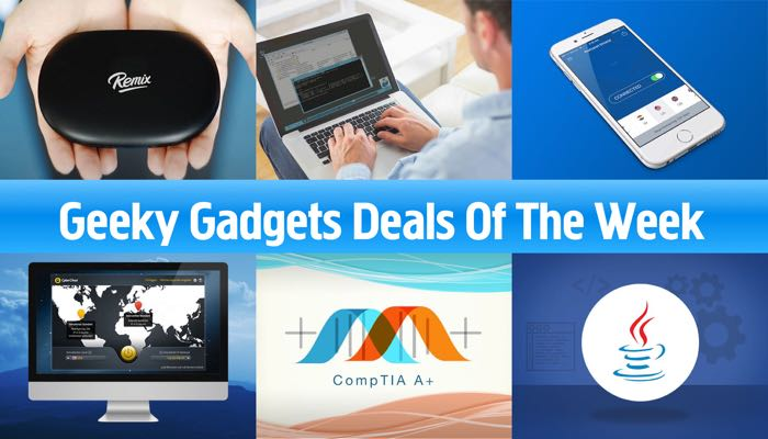 Geeky Gadgets Deals Of The Week