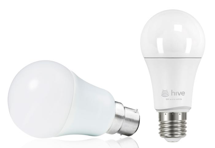 hive announces smart light bulbs geeky gadgets. Black Bedroom Furniture Sets. Home Design Ideas