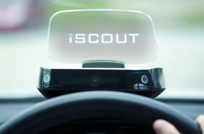 iSCOUT Head-Up Display