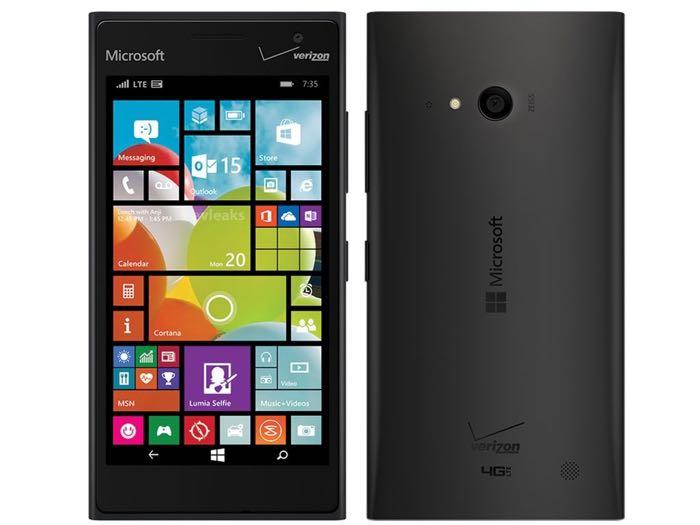 Verizon Microsoft Lumia 735 Gets Windows 10 Update