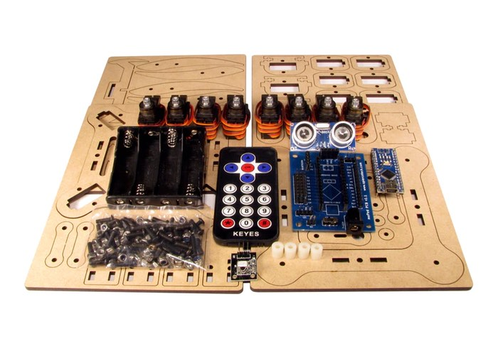 mePed Mini Quadruped Robot Kit