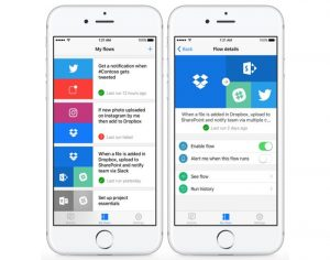 Microsoft Flow App Now Available On The iPhone