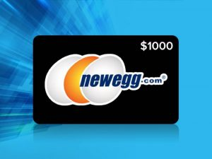 Last Chance: Enter The Newegg $1000 Gift Card Giveaway