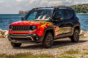 Jeep Renegade Hell's Revenge on Display at Euro Harley Show