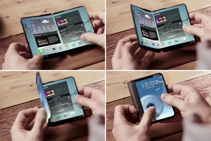 Foldable Android Smartphone