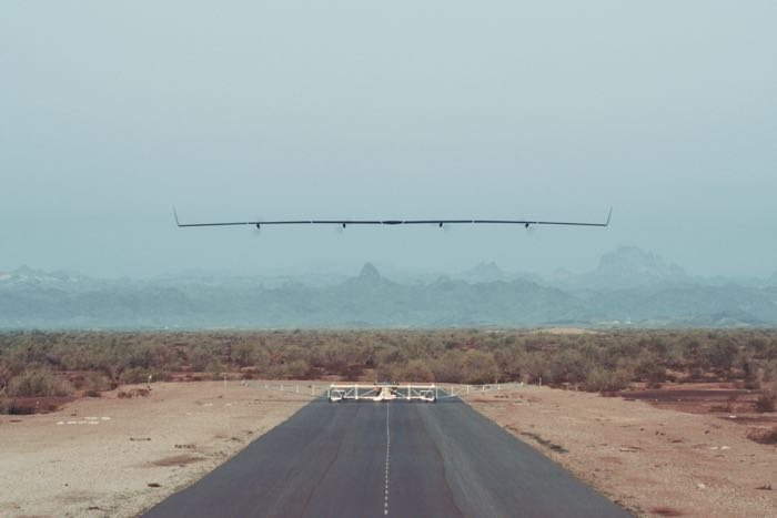 Aquila Solar Airplane