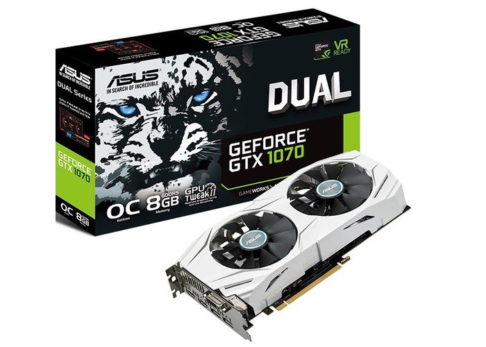 ASUS GeForce GTX 1070 DUAL Graphics Card