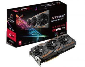 ASUS Radeon RX 480 STRIX Graphics Card Launches