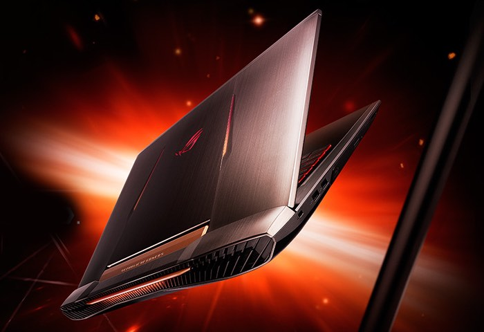 asus rog g752vs 4k ultra hd gaming laptop now available to pre order from 2 000 video geeky. Black Bedroom Furniture Sets. Home Design Ideas