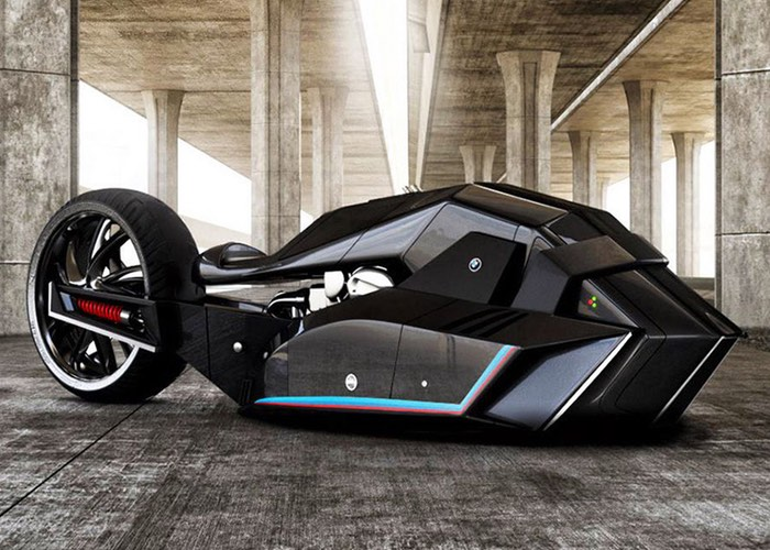 BMW Titan Concept Motorcycle