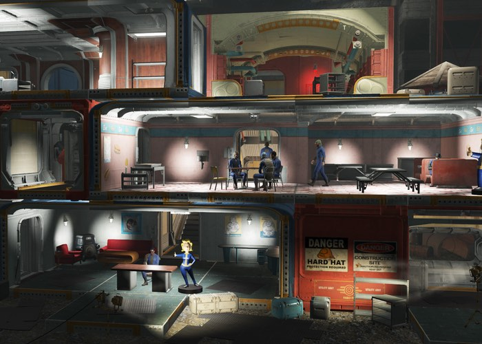 Bethesda Previewing New Fallout 4 Vault-Tec Workshop DLC Via Twitch