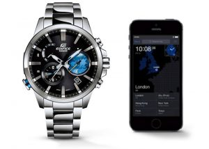 Casio Edifice Watch With Smartphone Link Technology