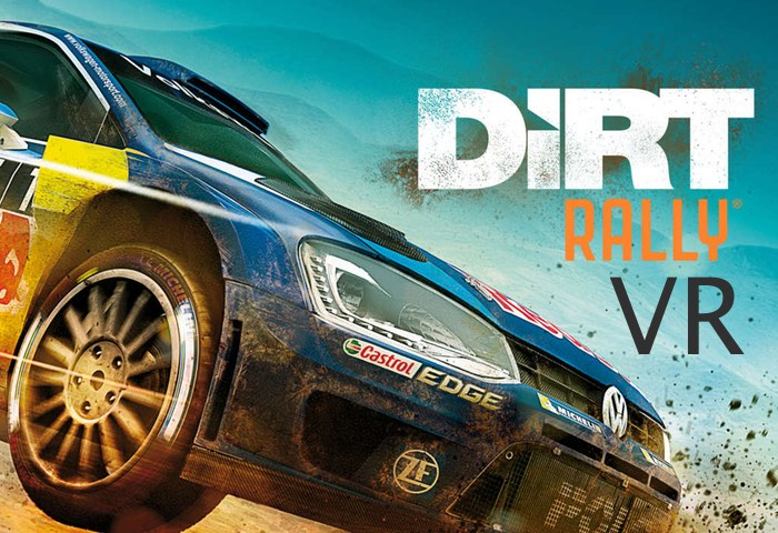 DiRT Rally VR Oculus Rift Gameplay