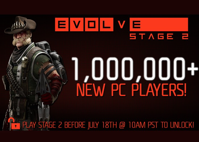 Evolve Enjoys Over 1 Million New Players