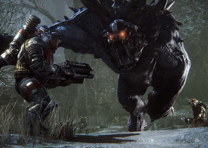 Evolve's Free-To-Play PC Beta Starts Today