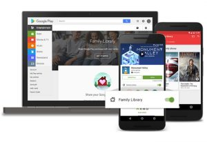Google Play Family Library Now Available For Easily Sharing Apps, Movies, Photos And More