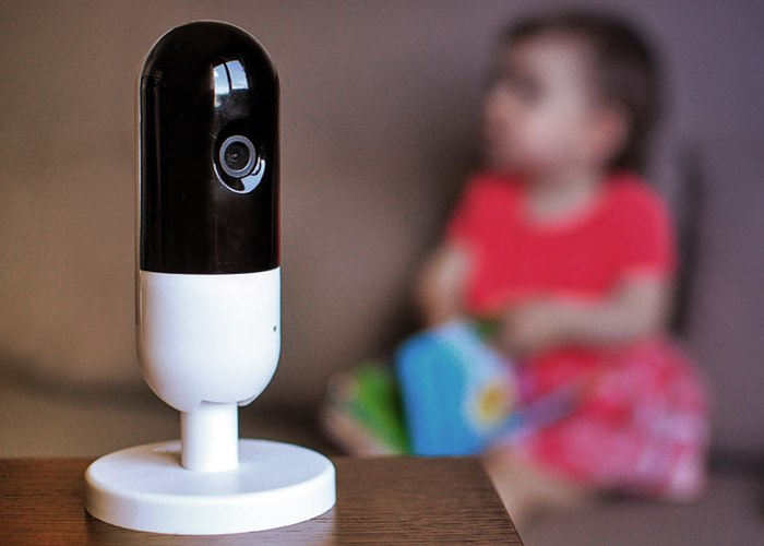 Invidyo Child Monitor With Smile Detection