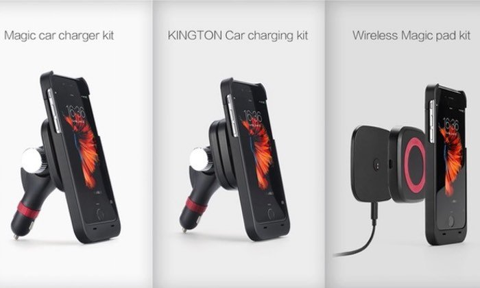 Kinston Touch Charges Smartphones Using Magnetic Technology