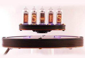 Awesome Levitating Nixie Clock Hits Kickstarter (video)